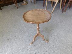Sherry / Side End Table In The Recycled Goods Factory Showroom --- Good Condition £10 (PC793)