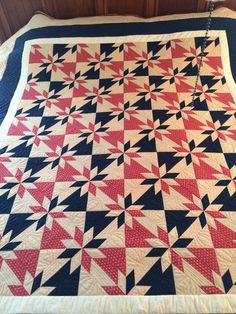 QOV Hunter's Star Quilt, completed February 2015