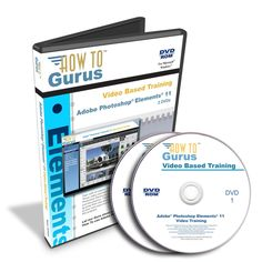 Best Bet! Adobe Photoshop Elements 11 Tutorial Video Training 15 hours on 2 DVDs