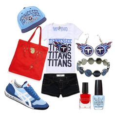 Outfit -- Tennessee Titans...Only Repining this until I put together my own outfit...would make a lot of changes!