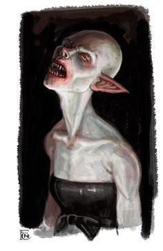 Another Vampire Sketch 3 by feliciacano on deviantART