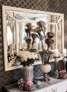 En unik og trendy nettbutikk som setter pris på vakre og unike ting Oversized Mirror, Chic, Furniture, Home Decor, Shabby Chic, Elegant, Classy, Interior Design, Home Interior Design