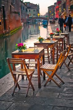 By the Canal, Venice, Italy