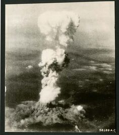 Atomic mushroom - A look back: 70th anniversary of the atomic bombing Hiroshima and Nagasaki - Pictures - CBS News