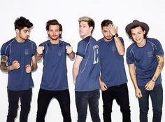 I like how in these new photo shoots, liam acts all model like and louis is just being himself