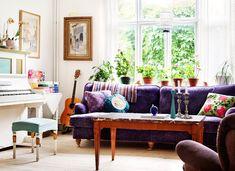 cozy living room #decor #plants #cozy