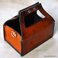 Leather Shotgun Shell Case ($50.00) - Svpply