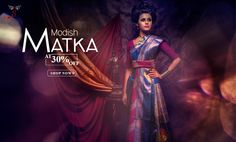 Hot and Happening #MatkaSilkSarees launched at cool prices!