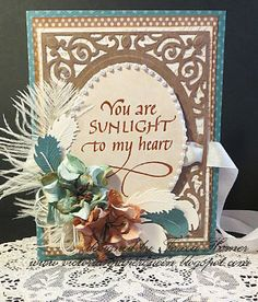 You are Sunlight to My Heart Stationery Gift | AllFreePaperCrafts.com