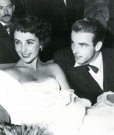 Elizabeth Taylor and Montgomery Clift - Kate Gabrielle classicfilmscans.blogspot.com