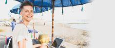 Als Digitaler Nomade ist es egal, wo und wann du arbeitest.