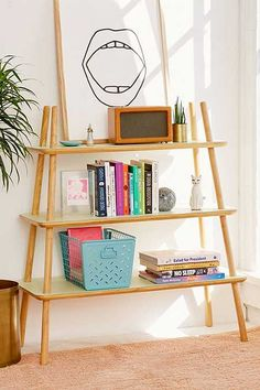Agatha Tiered Wooden Bookshelf