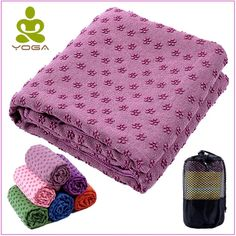 Cheap Yoga Mats, Buy Directly from China Non Slip Yoga Mat Cover Towel Blanket with Free Bag Sport Fitness Exercise Pilates Workout Anti Skid Acupressure Mat, Fibre Material, Yoga Towel, Relaxing Yoga, Runners World, Pilates Workout, Pilates Fitness, Yoga Accessories, Best Yoga