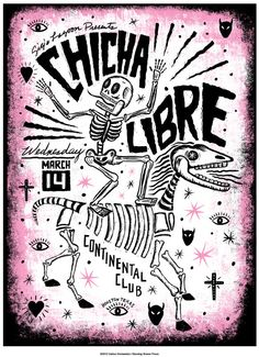 Chicha Libre by carloshernandez on Etsy, $30.00
