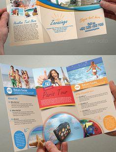 25 Best Travel and Tourist Brochure Design Templates | DesignMaz