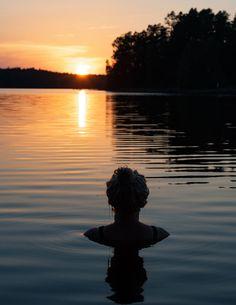 Aamukahvilla - Go Outdoors, The Great Outdoors, Beside Still Waters, Lakeside Living, Esoteric Art, Lake Beach, Summer Feeling, Blue Mountain, Love Photos