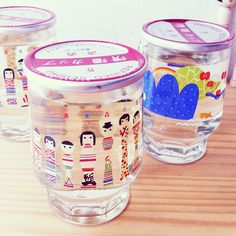 "@mizutamahanco's photo: ""こけしのワンカップみっけ! かーわーいーいー♡"""