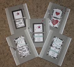 Roxybonds Close To My Heart CTMH consultant : CTMH-- For Always Card Workshop