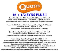Quorn syns