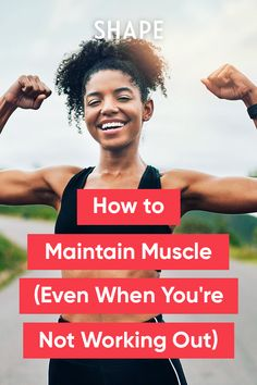 Here's how to maintain muscle tone during a gym hiatus. Whether you're injured or crazy-busy, these solutions for how to maintain muscle during an exercise break will help you stay strong. Wendy's Chocolate Frosty Recipe, Fitness Tips, Fitness Motivation, Losing Weight, Weight Loss, Intense Cardio Workout, Forearm Muscles, Muscle Imbalance, Muscle Tone