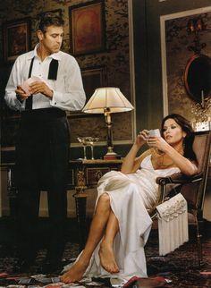 Catherine Zeta-Jones George Clooney