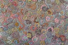 Sophie Digard - Grande Voile Scarf Wool Embroidered © 3748 Ref