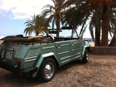 VW Thing on Canary Island Tenerife - used to own two of these in the early '80s