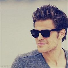 Paul Wesley - The Vampire Diaries Picture on We Heart It Paul Wesley Vampire Diaries, The Vampire Diaries, Ray Ban Sunglasses Sale, Wayfarer Sunglasses, Sunglasses 2014, Summer Sunglasses, Sunglasses Outlet, Celebrity Gallery, Celebrity Crush