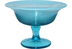 Opalescent blue compote