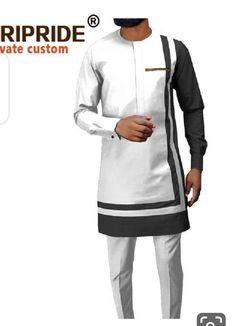 African Wear Styles For Men, African Shirts For Men, African Dresses Men, African Clothing For Men, African Attire, Nigerian Men Fashion, African Men Fashion, Plus Size Tracksuit, Costume Africain