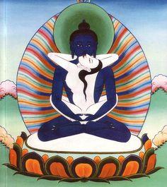 Primordial Buddha Samanthabhadra & Samanthabhadri