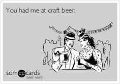 You had me at craft beer.