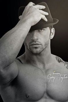 Gary Taylor - As if he couldn't get any more fine!! He just HAD to put on that fedora! **drools**