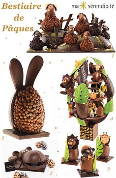 Chocolate Candy Recipes, Chocolate Bark, Easter Chocolate, Homemade Chocolate, Chocolates, Chocolate Showpiece, Lenotre, Chocolate Sculptures, Cute Desserts