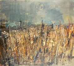 Seeded Grasses and Daisies, September by Joan Eardley - print