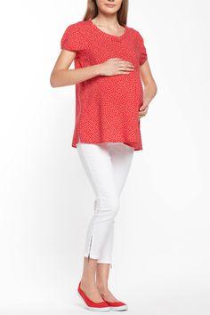 Desenli modeli ve rahat kalıbı ile hamilelik döneminde üzerinize kolaylıkla yakıştırabileceğiniz DeFacto hamile bluz.