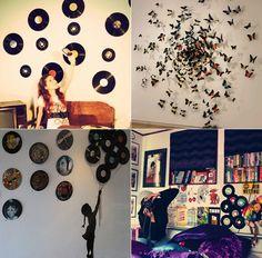 decoração pop para quartos, incrível como o vinil dá estilo à decoração!