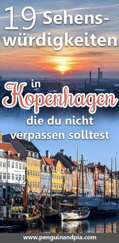 Copenhagen Attractions: Our 19 Favorite Attractions - There is a lot to discover in Copenhagen. We share with you our best travel tips for the Danish cap - Visit Denmark, Denmark Travel, Places To Travel, Places To See, Travel Destinations, Lofoten, Copenhagen Attractions, Travel Guides, Travel Tips