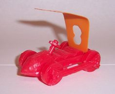 flintstone automobile from Post Peebles Cereal