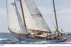 Manitou- 62' yawl, S&S, 1937; JFK owned her while president