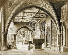 Crystal Palace, Medieval Court 1854