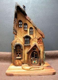 Clay Houses, Ceramic Houses, Miniature Houses, Cardboard Houses, Miniature Dolls, Pottery Houses, Fairy Garden Houses, Fairy Gardens, Gnome House