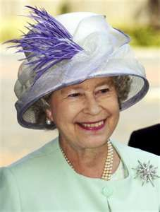 Her Majesty Queen Elizabeth.  She always makes me smile