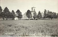 ☆ RPPC CATHOLIC CHURCH Elk Rapids Michigan MI Vintage Real Photo Postcard