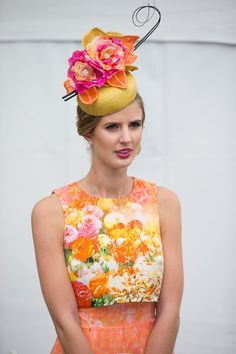 A fascinator needs to have shapes, colours and textures that work in harmony with your outfit. www.stylestaples.com.au