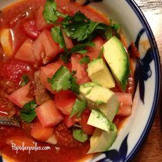 Sweet & Spicy Slow Cooker Stew | popularpaleo.com