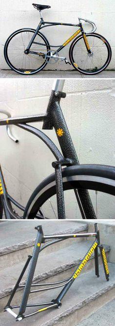 YAMAGUCHI track bike #fixie #fixedgear