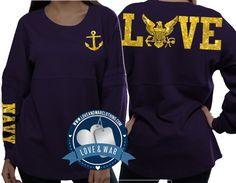 Love Navy varsity crew - LOVEANDWARCLOTHING