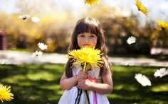 Want to be happy? Look at something yellow! Yellow inspires feelings of happiness, not only because it's associated with things like sunshine and optimism, but also because it's known to stimulate serotonin in the brain. Click to read more: 7 Great Habits That Will Naturally Lift Your Mood.  That's why it's my favorite color:)