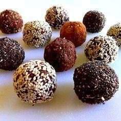 Crunchy Raw Protein Balls by healthyfamilyandhome